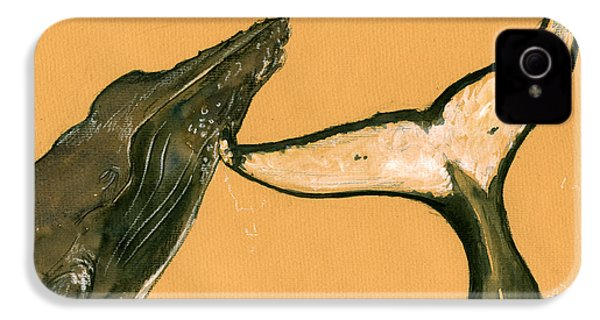 Humpback Whale Painting IPhone 4s Case