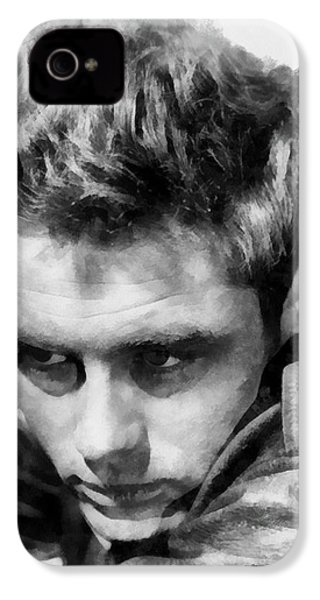 James Dean By John Springfield IPhone 4s Case by John Springfield