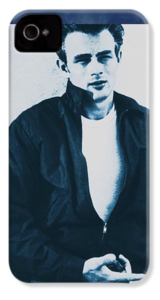 James Dean IPhone 4s Case by John Springfield