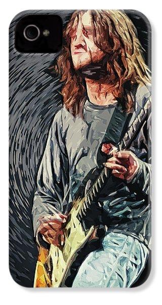 John Frusciante IPhone 4s Case by Taylan Apukovska
