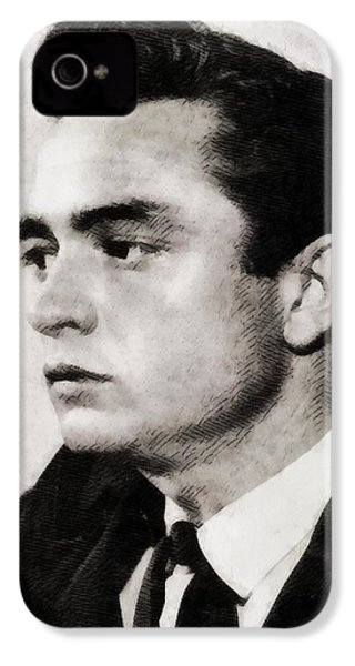 Johnny Cash, Singer IPhone 4s Case by John Springfield