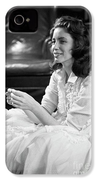 June Carter, 1956 IPhone 4s Case by The Harrington Collection