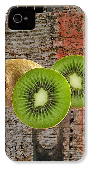 Kiwi Collection IPhone 4s Case by Marvin Blaine