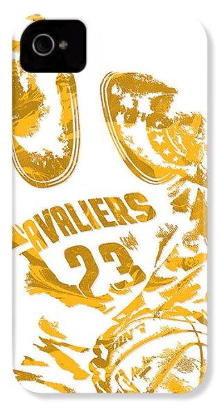 Lebron James Cleveland Cavaliers Pixel Art 7 IPhone 4s Case