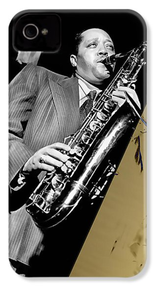 Lester Young Collection IPhone 4s Case by Marvin Blaine