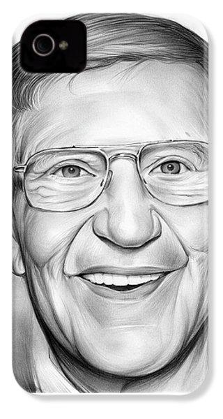 Lou Holtz IPhone 4s Case by Greg Joens