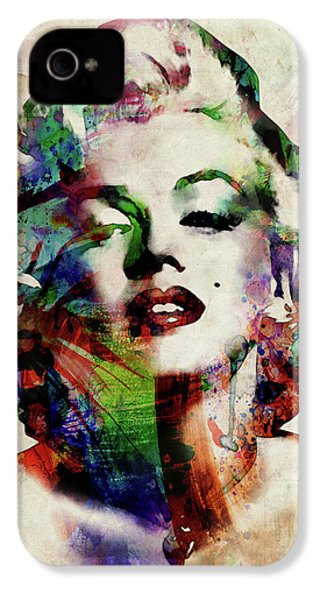 Marilyn IPhone 4s Case by Michael Tompsett