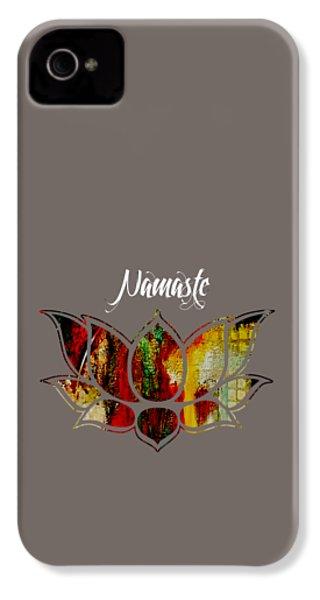 Namaste IPhone 4s Case by Marvin Blaine