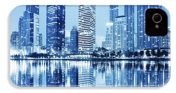 Night Scenes Of City IPhone 4s Case by Setsiri Silapasuwanchai