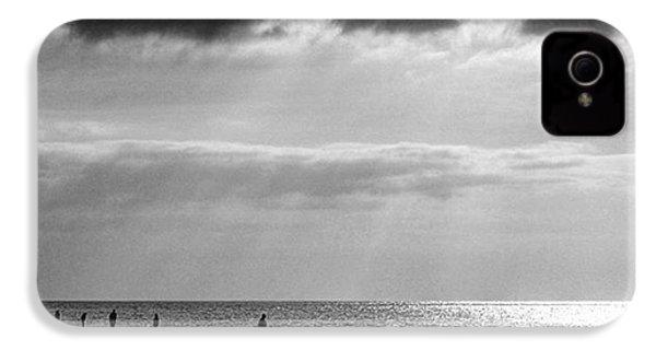 Old Hunstanton Beach, Norfolk IPhone 4s Case by John Edwards