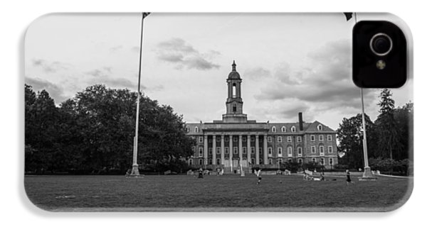 Old Main Penn State Black And White  IPhone 4s Case