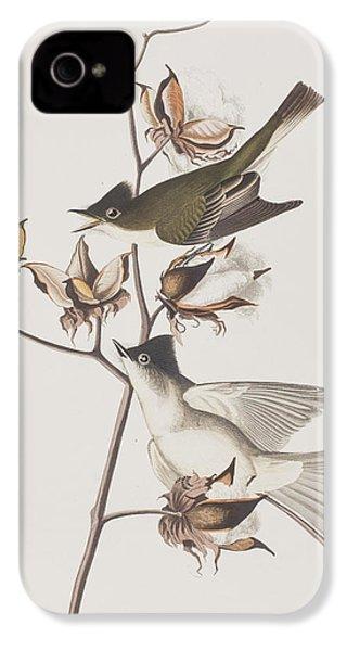 Pewit Flycatcher IPhone 4s Case by John James Audubon