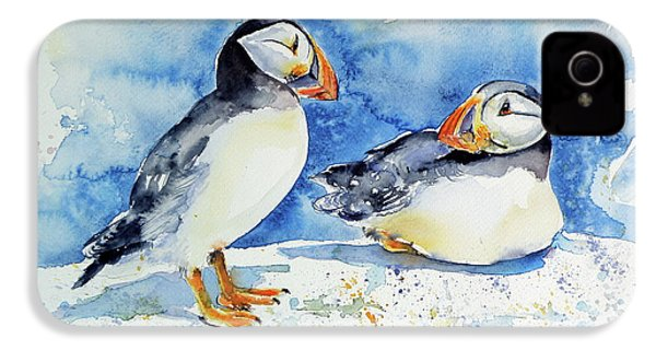 Puffins IPhone 4s Case