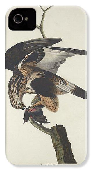 Rough Legged Falcon IPhone 4s Case by Rob Dreyer