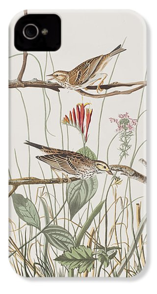 Savannah Finch IPhone 4s Case by John James Audubon
