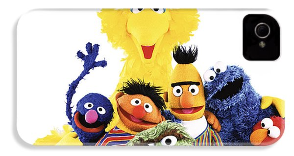 Sesame Street IPhone 4s Case