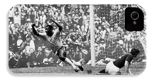 Soccer: World Cup, 1970 IPhone 4s Case by Granger