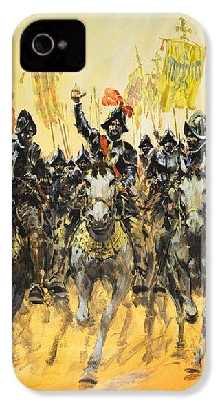 Spanish Conquistadors IPhone 4s Case by Graham Coton