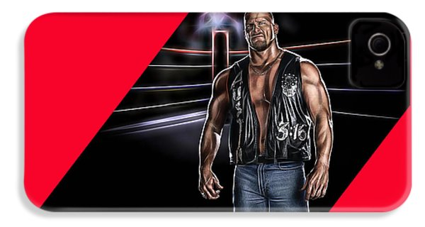 Stone Cold Steve Austin Wrestling Collection IPhone 4s Case