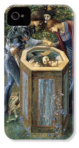 The Baleful Head IPhone 4s Case by Edward Burne-Jones