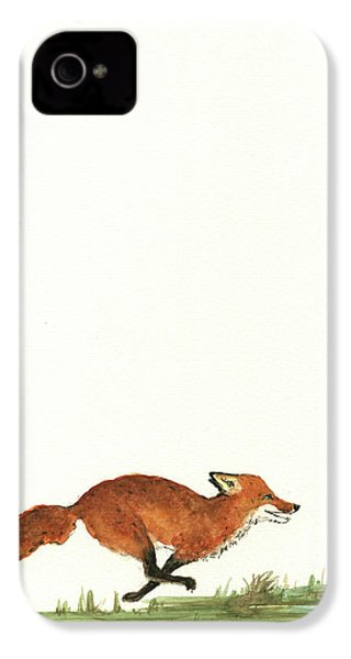 The Fox And The Pelicans IPhone 4s Case