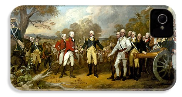 The Surrender Of General Burgoyne IPhone 4s Case