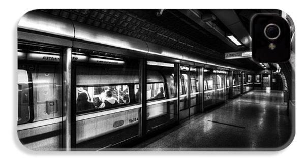 The Underground System IPhone 4s Case by David Pyatt