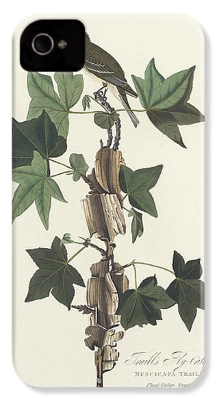 Traill's Flycatcher IPhone 4s Case