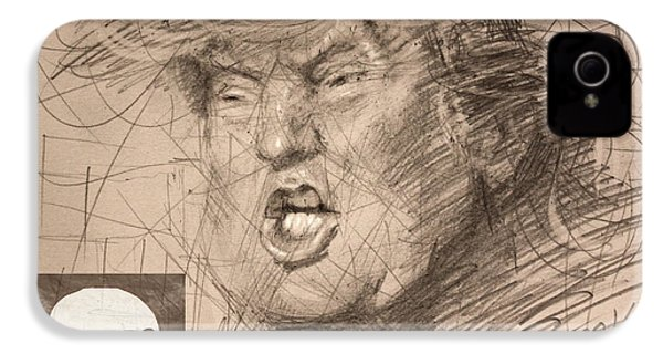 Trump IPhone 4s Case by Ylli Haruni