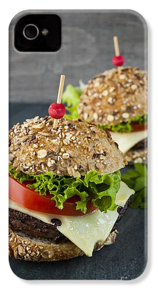 Two Gourmet Hamburgers IPhone 4s Case