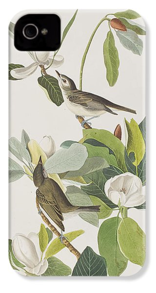 Warbling Flycatcher IPhone 4s Case