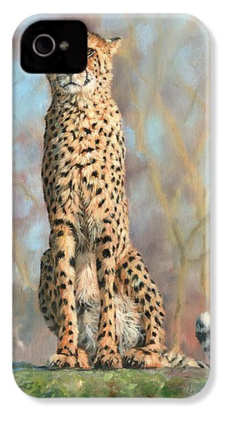 Cheetah IPhone 4s Case by David Stribbling