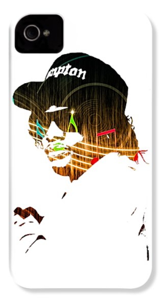Eazy E Straight Outta Compton IPhone 4s Case by Marvin Blaine