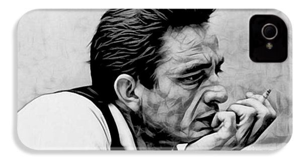 Johnny Cash Collection IPhone 4s Case by Marvin Blaine