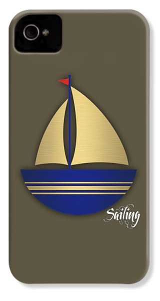 Nautical Collection IPhone 4s Case by Marvin Blaine