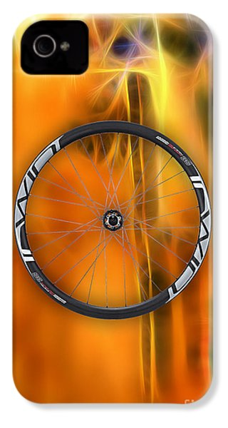 Bicycle Wheel Collection IPhone 4s Case by Marvin Blaine