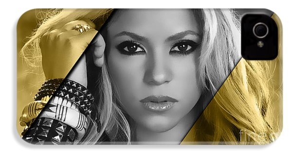 Shakira Collection IPhone 4s Case by Marvin Blaine