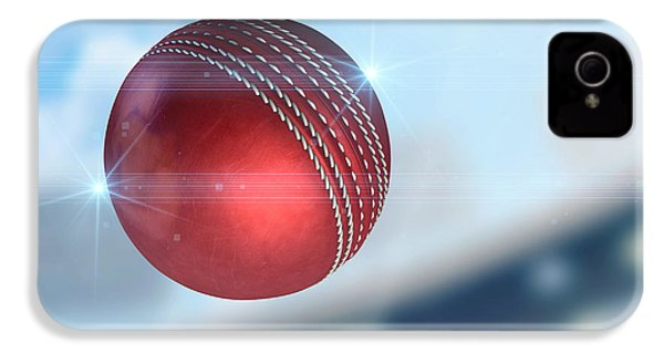 Ball Flying Through The Air IPhone 4s Case by Allan Swart
