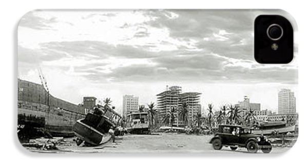 1926 Miami Hurricane  IPhone 4s Case by Jon Neidert
