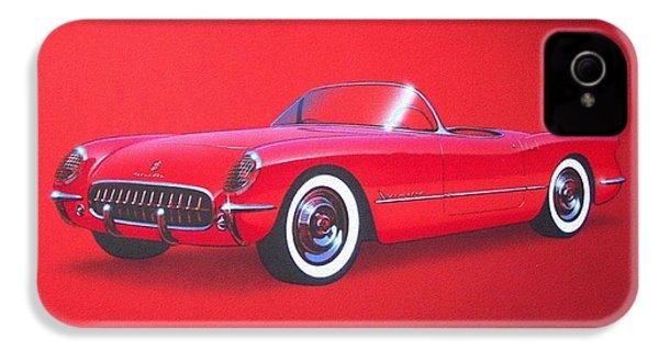 1953 Corvette Classic Vintage Sports Car Automotive Art IPhone 4s Case