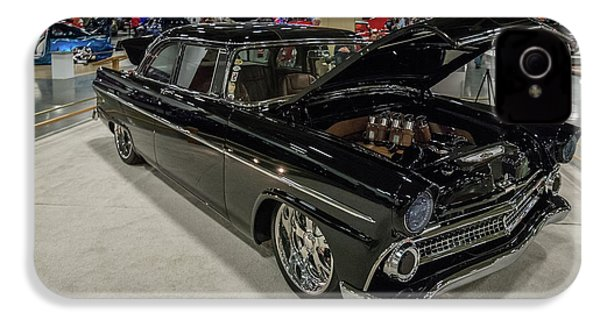 IPhone 4s Case featuring the photograph 1955 Ford Customline by Randy Scherkenbach