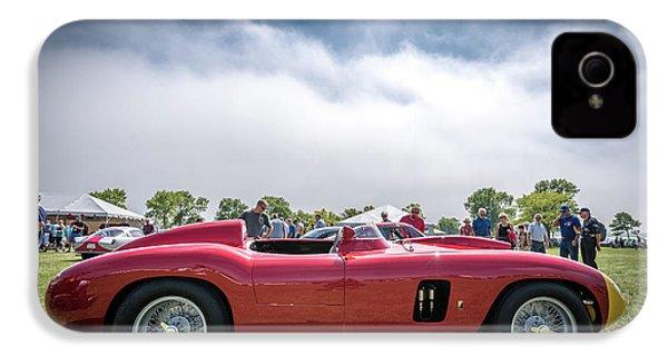 IPhone 4s Case featuring the photograph 1956 Ferrari 290mm by Randy Scherkenbach