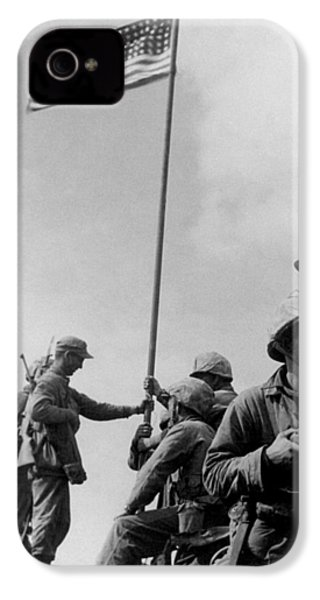 1st Flag Raising On Iwo Jima  IPhone 4s Case