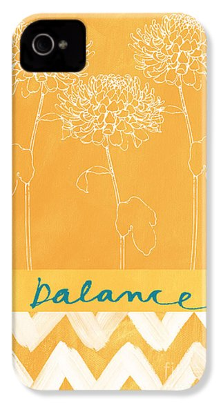 Balance IPhone 4s Case by Linda Woods