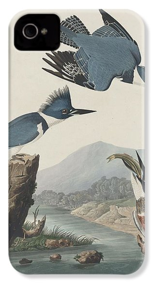 Belted Kingfisher IPhone 4s Case by Dreyer Wildlife Print Collections