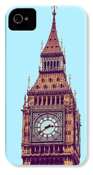 Big Ben Tower, London  IPhone 4s Case by Asar Studios