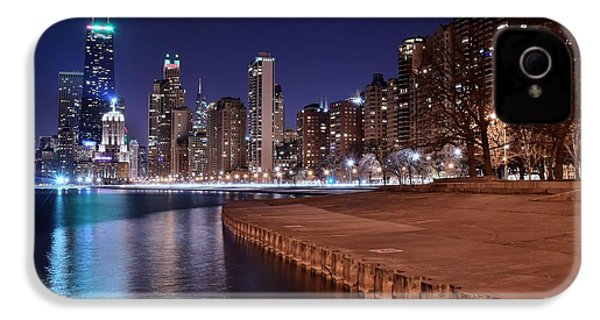 Chicago From The North IPhone 4s Case by Frozen in Time Fine Art Photography