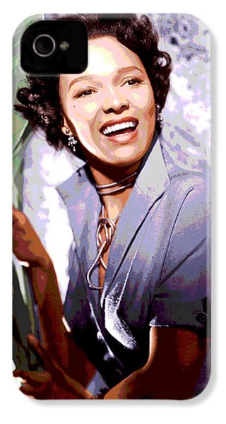 Dorothy Dandridge IPhone 4s Case by Charles Shoup