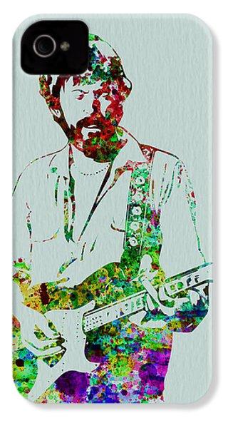 Eric Clapton IPhone 4s Case by Naxart Studio