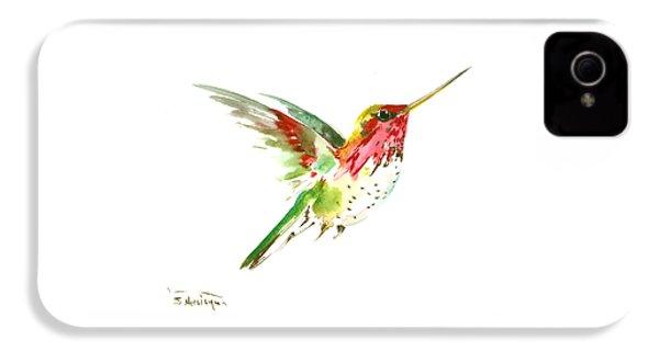 Flying Hummingbird IPhone 4s Case by Suren Nersisyan